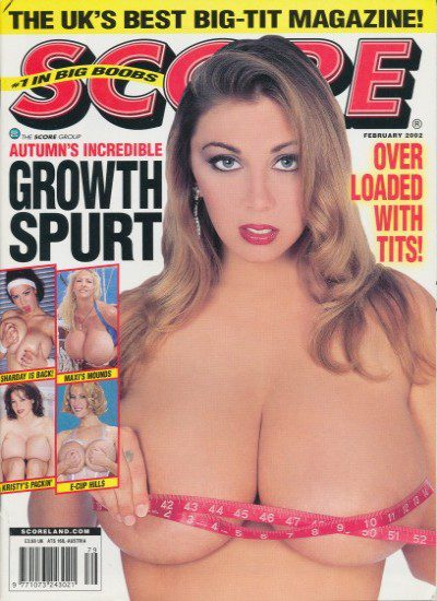Front cover of Score February 2002 magazine
