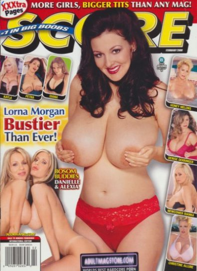 Front cover of Score February 2006 magazine