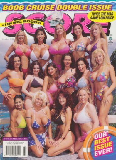 Front cover of Score Holiday 2000 magazine