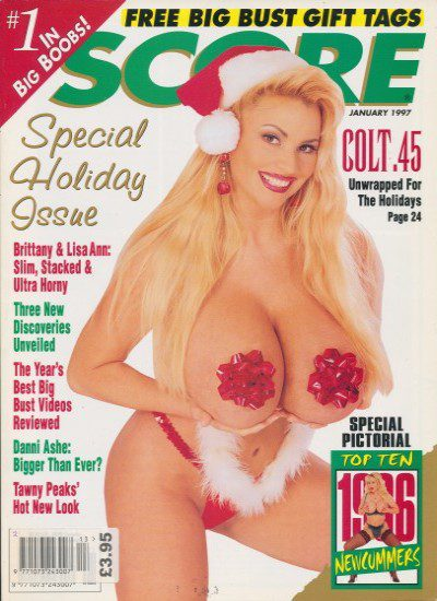 Front cover of Score January 1997 magazine
