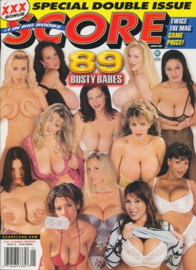 Front cover of Score January 2005 magazine
