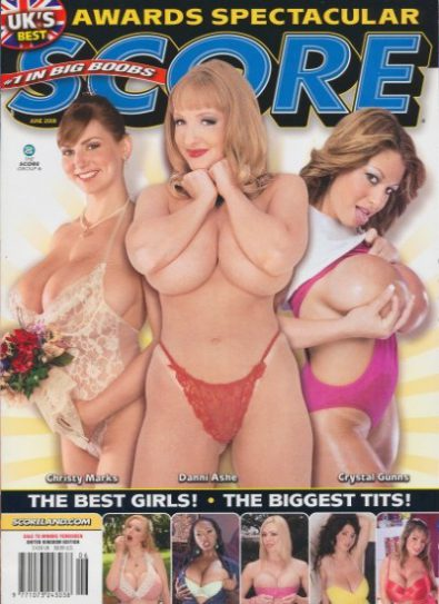 Front cover of Score June 2008 magazine