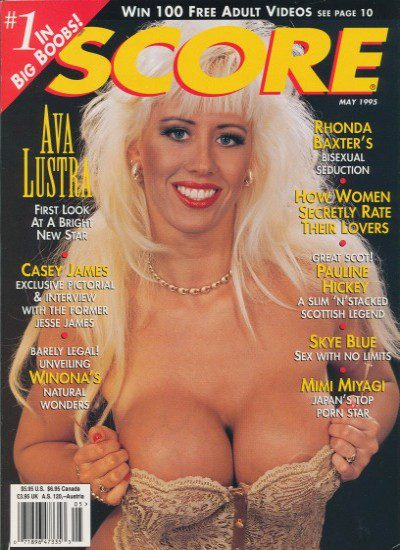 Front cover of Score May 1995 magazine