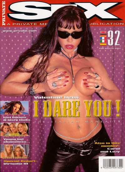 Front cover of Private Sex 32 magazine