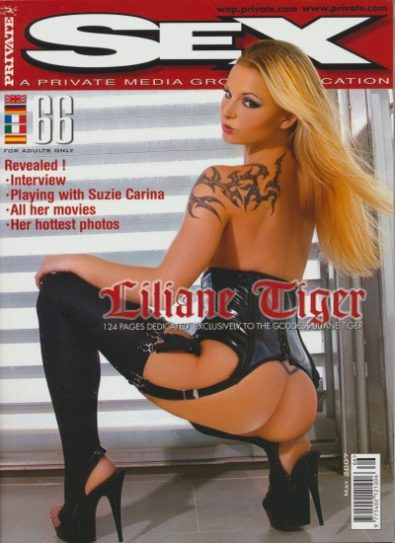 Front cover of Private Sex 66 magazine