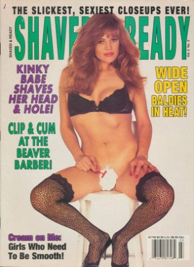 Front cover of Shaved and Ready Volume 2 Number 3 magazine