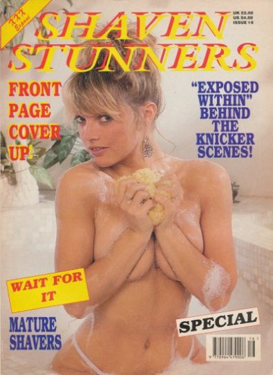 Front cover of Shaven Stunners Issue 16 magazine