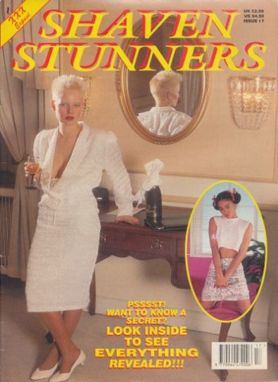 Front cover of Shaven Stunners Issue 17 magazine