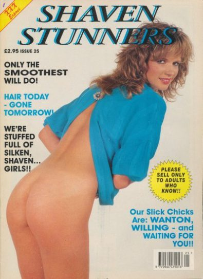 Front cover of Shaven Stunners Issue 25 magazine