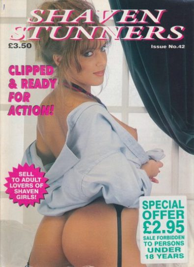 Front cover of Shaven Stunners Number 42 magazine