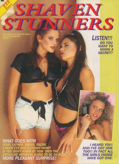 Front cover of Shaven Stunners Issue 7 magazine
