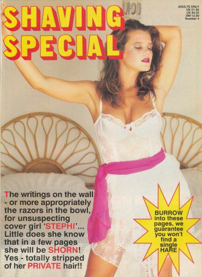 Front cover of Shaving Special Number 4 magazine