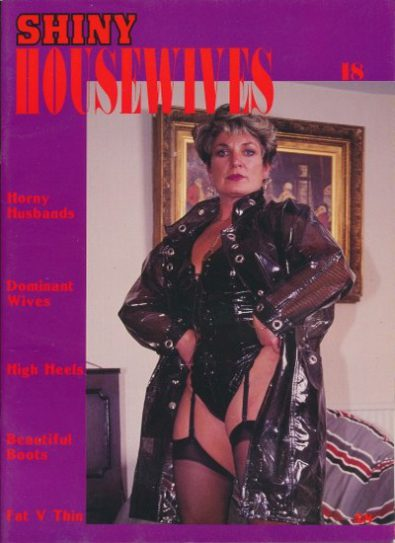 Front cover of Shiny Housewives 18 magazine