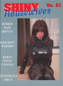 Front cover of Shiny Housewives 21 magazine