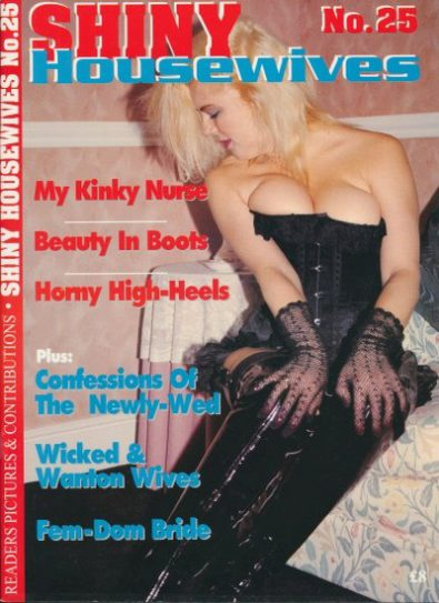 Front cover of Shiny Housewives 25 magazine