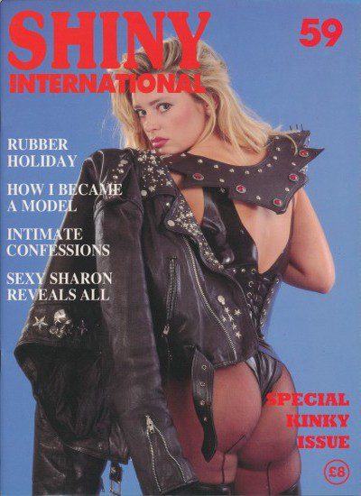 Front cover of Shiny International Issue 59 magazine