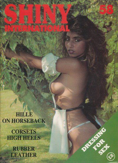 Front cover of Shiny International Issue 58 magazine