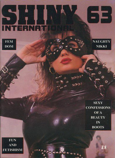 Front cover of Shiny International Issue 63 magazine