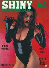 Front cover of Shiny International Issue 64 magazine