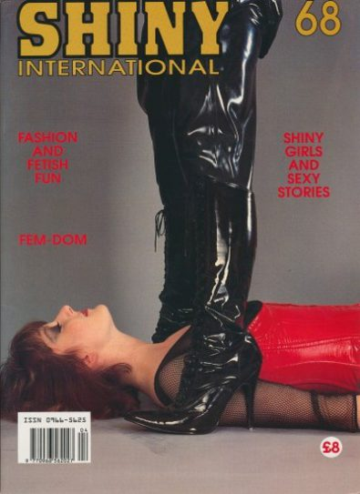 Front cover of Shiny International Issue 68 magazine