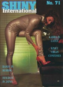 Front cover of Shiny International Issue 71 magazine