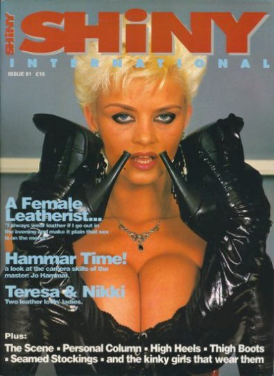 Front cover of Shiny International Issue 81 magazine