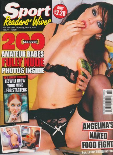 Front cover of Sport Readers Wives No 51 magazine