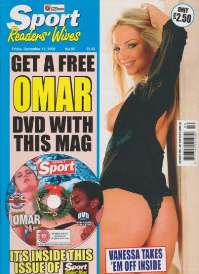 Front cover of Sport Readers Wives No 65 magazine
