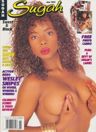 Front cover of Sugah June 1995 magazine