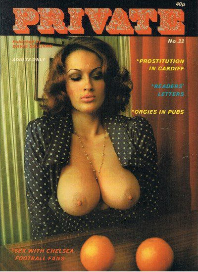 Front cover of Private Issue 22 magazine