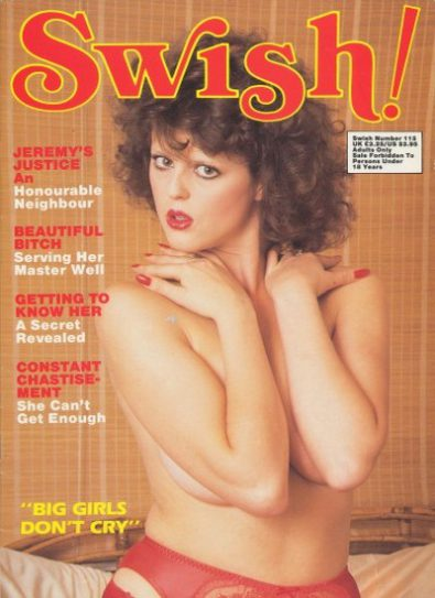 Front cover of Swish 115 magazine