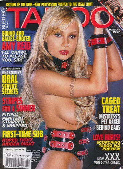 Front cover of Taboo January 2007 magazine