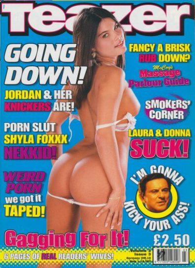 Front cover of Teazer Volume 3 No 3 magazine