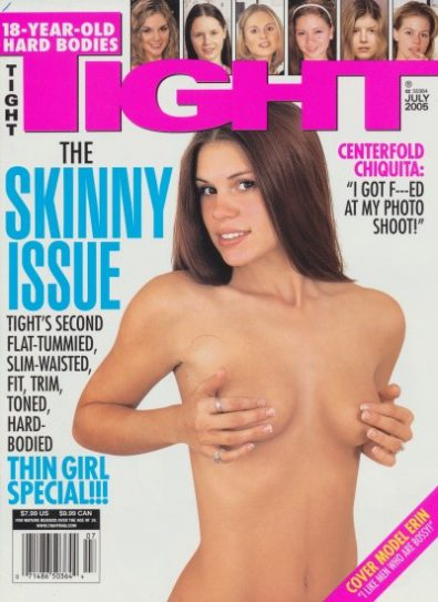 Front cover of Tight July 2005 magazine