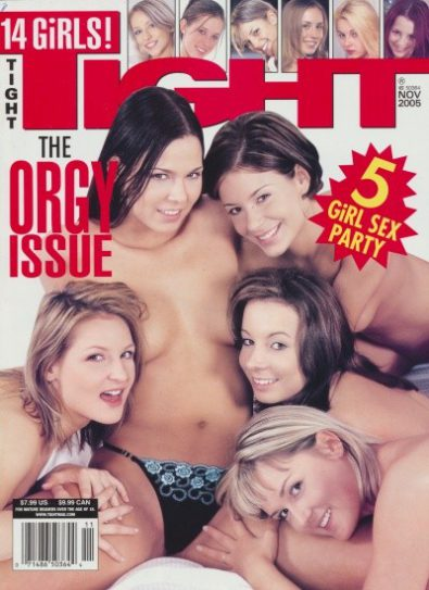 Front cover of Tight November 2005 magazine