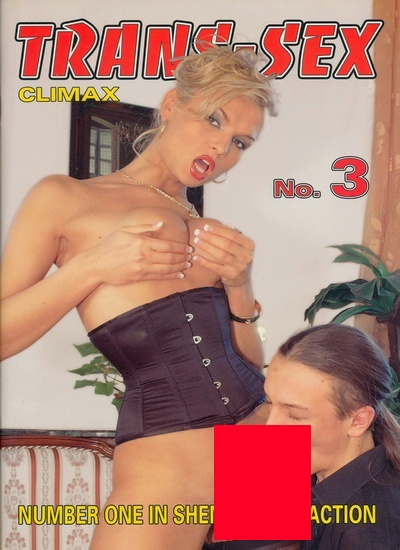 Front cover of Trans-Sex Climax 3 magazine