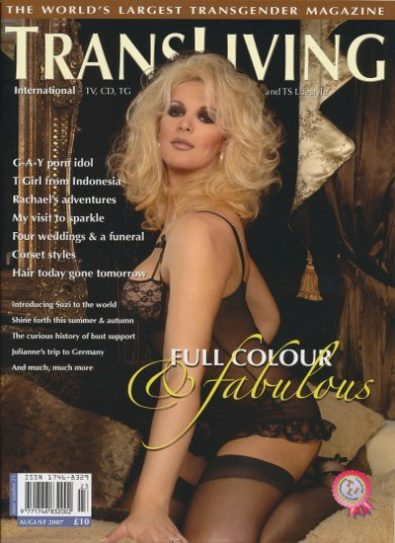 Front cover of Transliving Issue 23 magazine