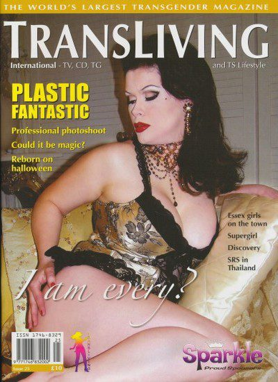 Front cover of Transliving Issue 25 magazine
