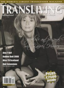 Front cover of Transliving Issue 27 magazine