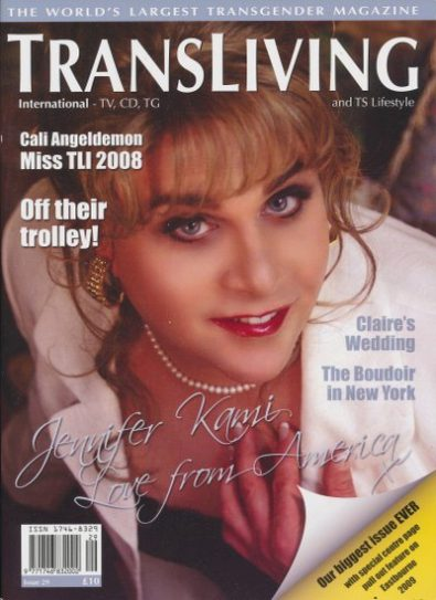 Front cover of Transliving Issue 29 magazine