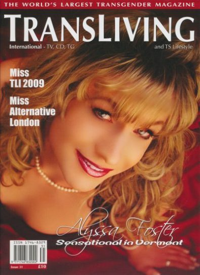 Front cover of Transliving Issue 31 magazine