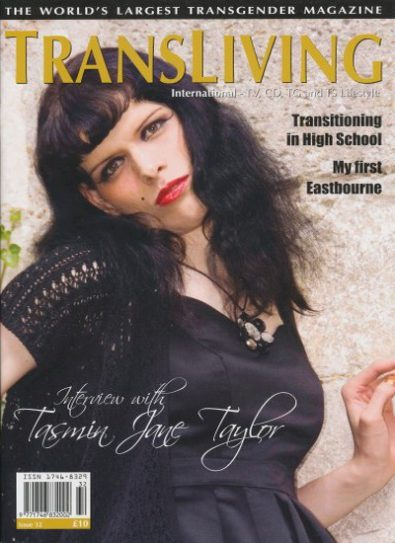 Front cover of Transliving Issue 32 magazine