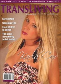 Front cover of Transliving Issue 34 magazine