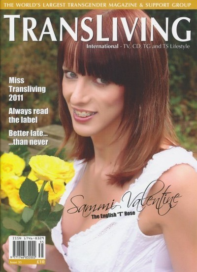 Front cover of Transliving Issue 35 magazine
