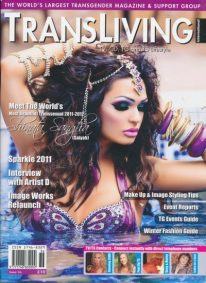 Front cover of Transliving Issue 36 magazine