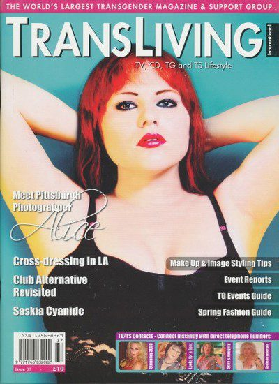 Front cover of Transliving Issue 37 magazine