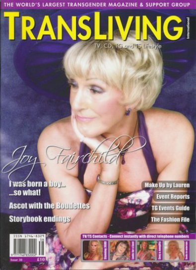 Front cover of Transliving Issue 38 magazine