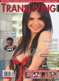 Front cover of Transliving Issue 39 magazine