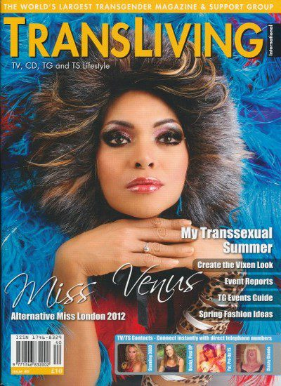 Front cover of Transliving Issue 40 magazine
