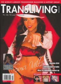 Front cover of Transliving Issue 45 magazine